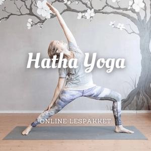 Hatha yoga online lespakket