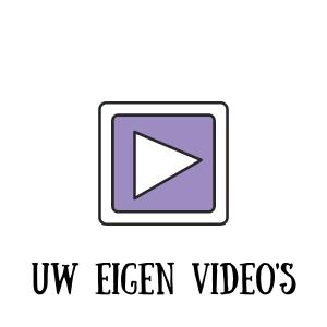 Uw eigen video's
