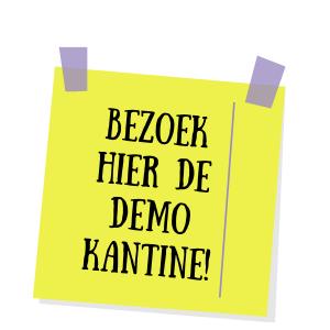 Bezoek hier de demo kantine!