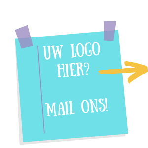 Uw logo hier? Mail ons!