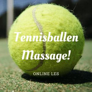 Tennisballen massage online les